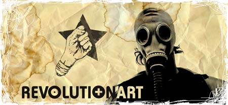 cool gas mask revolutionart pic